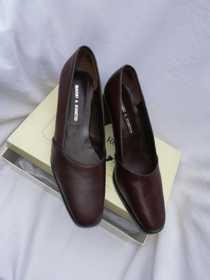 Zapato Mocasin, Stilletto Talle 39, 100%cuero, Impecable!!!