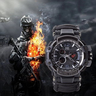 Relógio Tático Militar Sobrevivencia