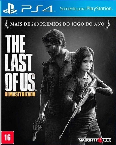 Jogo The Last Of Us Remastered Playstation 4 Ps4 Frete Gráts