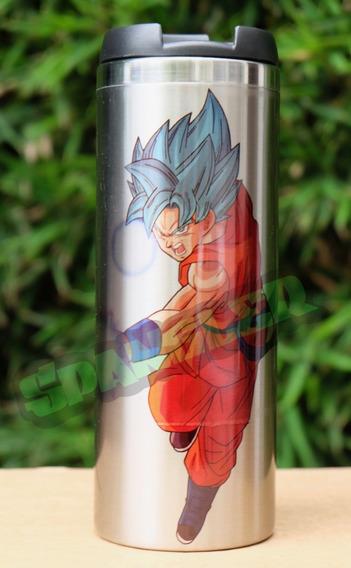 Termo De Acero Dragon Ball Goku Fase Dios