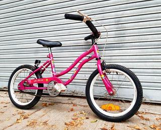 Bicicleta Niños Niñas Rodado 16 Musetta Giuliani Buen Estado