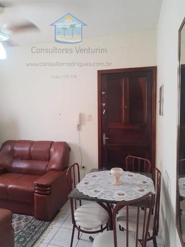 Apartamento Para Venda Em Praia Grande, Boqueirão, 1 Dormitório, 1 Banheiro, 1 Vaga - Ap132_1-1941696