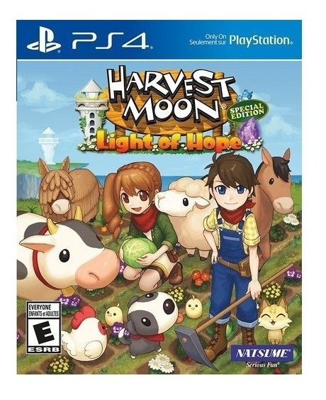 Harvest Moon Light Os Hope Special Edition Ps4 Mídia Física