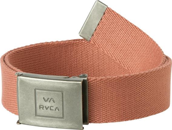 Cinturon Rvca, Mod. Falcon Web Belt, Color Bor.