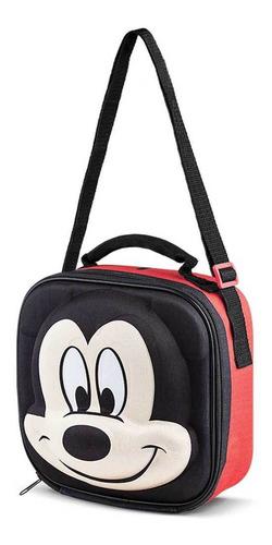 Bolsa Lancheira 3d Disney Mickey - Lillo