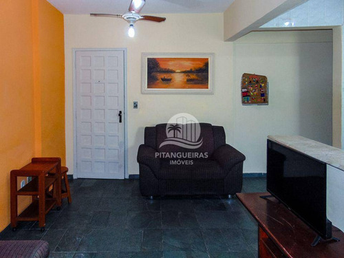 Imagem 1 de 15 de Praia De Astúrias - Excelente Apartamento Próximo A Praia - Garagem - Lazer. - Ap1695