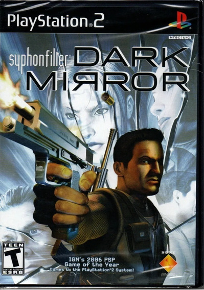 Syphon Filter Dark Mirror Ps2 Jogo Novo Original Lacrado