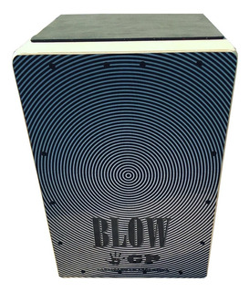 Cajon Flamenco Golpe Blow Con Bordona 30 Hilos