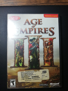 Jueco Pc Original Age Of Empire 3