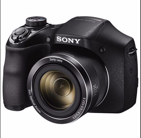 Câmera Sony Dsc-h300 3.0 20.1mp Zoom 35x + Cartão 8gb