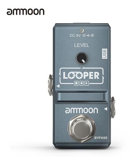 Ammoon Ap -09 Nano Laço Efeito Guitarra Elétrico Pedal Loope