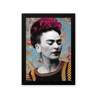 Quadro Frida Floral 33x43cm