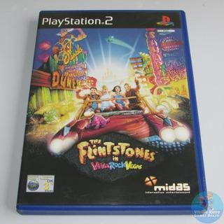 Ps2 The Flintstones In Viva Rock Vegas Original Europeu Rare