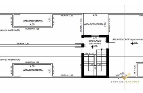 Cobertura Com 2 Dormitórios À Venda, 110 M² Por R$ 380.000 - Paraíso - Santo André/sp - Co0408