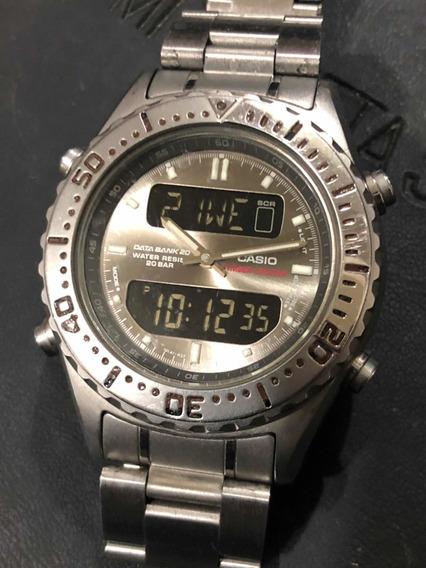 Reloj Vintage Casio Análogo/digital Diver 20atm