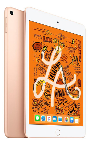 """Imagen 1 de 3 de Apple iPad Mini de 7.9"""" Wi-Fi  64GB Oro (5ª generación)"""
