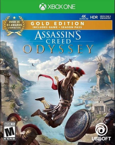 Assassins Odyssey Xbox One Digital Garantia Vitalícia