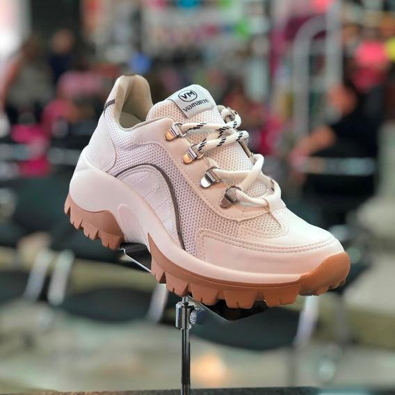 Tênis Via Marte Branco Chunky Sneaker Lançamento Inverno 20
