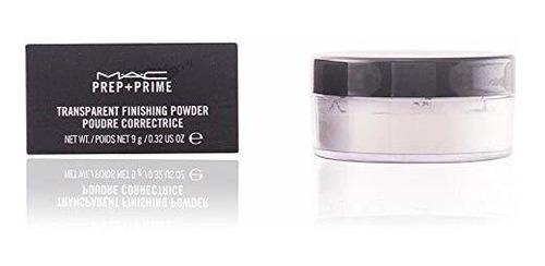 Mac Cosmetics Prep + Prime Polvo De Acabado Transparente