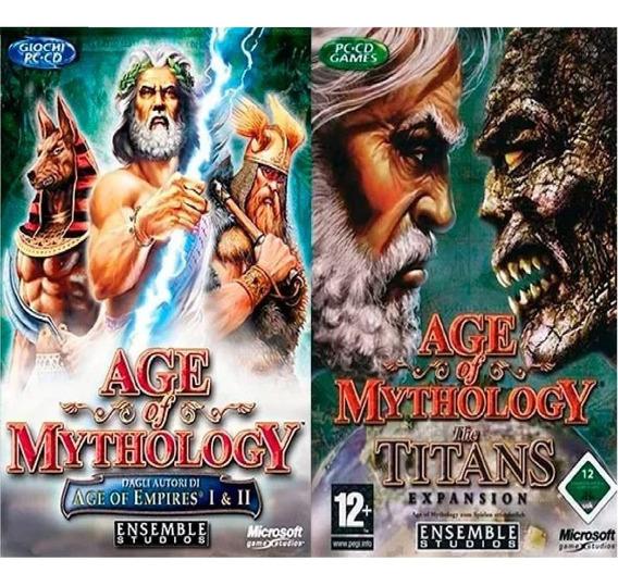 Age Of Mythology + Expansão Titans Em Português Envio Email
