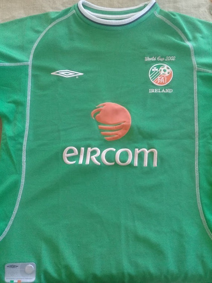 Camiseta Irlanda Mundial 2002