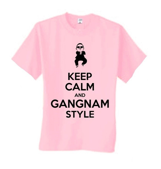 Camiseta Keep Calm And Gangnam Style - Wimza - Dv1317