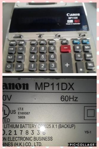 Sumadora Calculadora Eléctrica Canon
