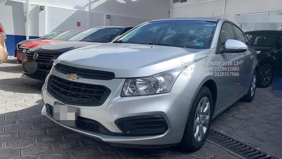 Chevrolet Cruze 2016 Ls 4 Cil 1.8 Lts Eng $ 35,000