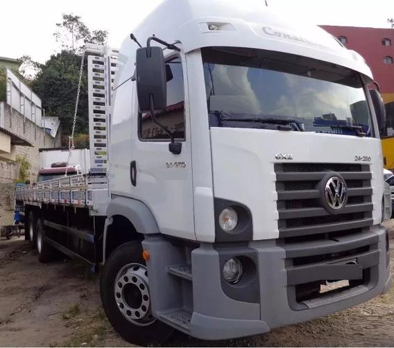 Vw 24.250 Ano 2012 Carroceria De Madeira Truck