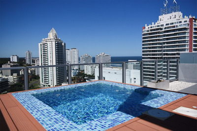 Penthouse Loft Playa Brava Con Terraza Y Parrillero