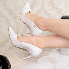 0f276ec9b Sapato Noiva Carmen Steffen - Sapatos no Mercado Livre Brasil