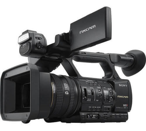 Filmadora Sony Hxr-nx5r Nxcam Com Led Light