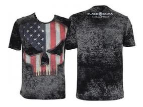 Camiseta Tshirt Branch Warren Black Skull