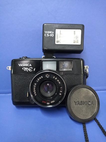Câmera Fotográfica Analógica Yashica Me 1 Na Caixa