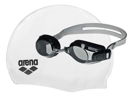 Kit De Gafa Y Gorro Arena Pool Set Arena