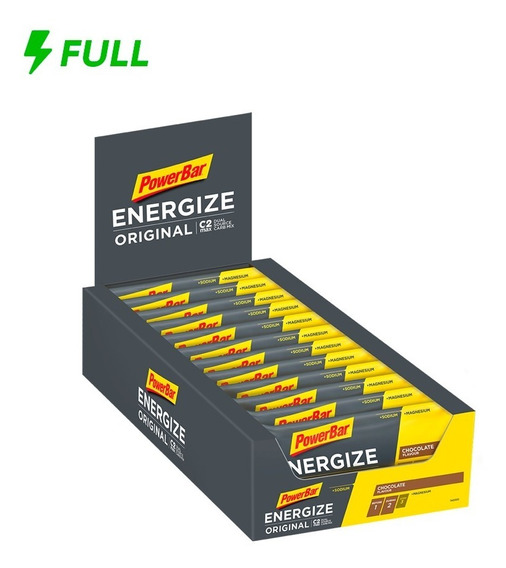 Barra De Proteína Energize Original Power Bar 55g Cx 25 Un