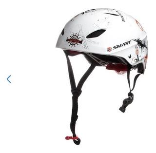Casco Para Bicicleta Skate Roller Con Regulador De Talle