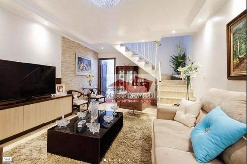 Imagem 1 de 30 de Sobrado Com 3 Dormitórios À Venda, 126 M² Por R$ 715.000,00 - Vila Prudente - São Paulo/sp - So3264