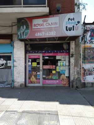 Fondo De Comercio De Pet Shop En Av. Corrientes