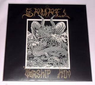 Samael Worship Him Lp Gold Vinyl Black Metal Suiza
