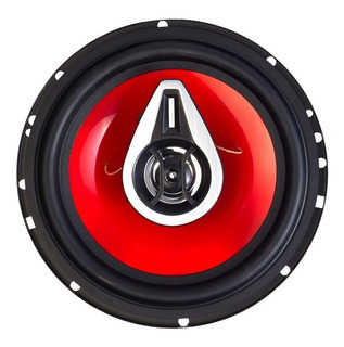 Juego Parlante 6 1/2 Luxell Auto 200w 3 Vias Reja 4 Oh 6523