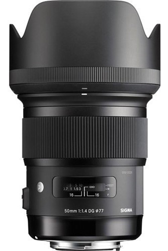 Lente Sigma Para Nikon 50mm F/1.4 Dg Hsm - Loja Platinum