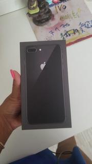 iPhone 8 Plus 256 Gb Na Caixa Com Cabo Auxiliar