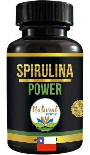 Spirulina Power Pastillas Espirulina Ansiedad Santis Natural