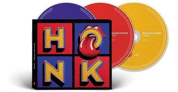 Cd Rolling Stones Honk Deluxe Triplo Lacrado Pronta Entrega