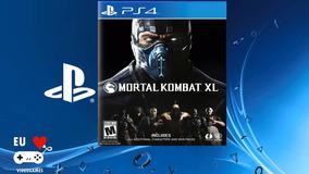 Mortal Kombat Xl - Psn 1 - Jogo De Playstation 4