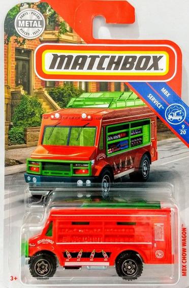 Chow Wagon Matchbox Camion De Alimentos