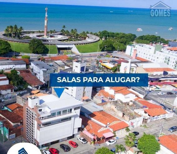 Sala Comercial Para Alugar, Tambaú, João Pessoa, Pb - 1362