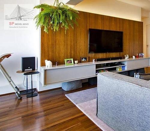 Apartamento À Venda, 92 M² Por R$ 1.380.000,00 - Brooklin - São Paulo/sp - Ap11948