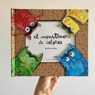 El Monstruo De Colores Pop Up Anna Llenas